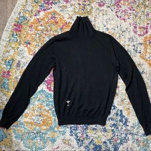 Handmade Black Cashmere Sweater